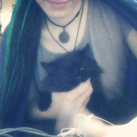 #fotoflashback #cat #satanic