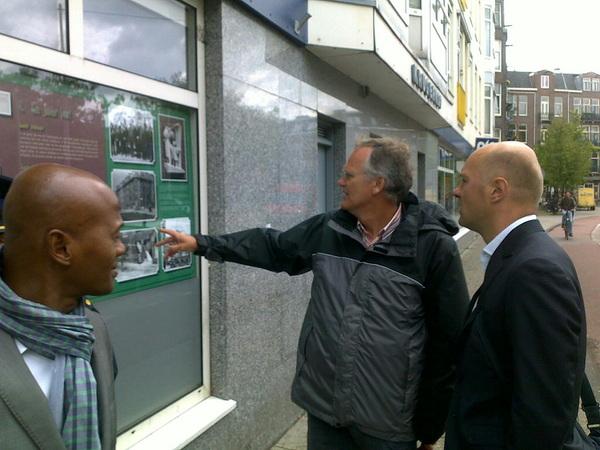 Met liberaal Tweede Kamerlid @borisham en politie door #Transvaalbuurt gelopen. Overlast is verminderd.