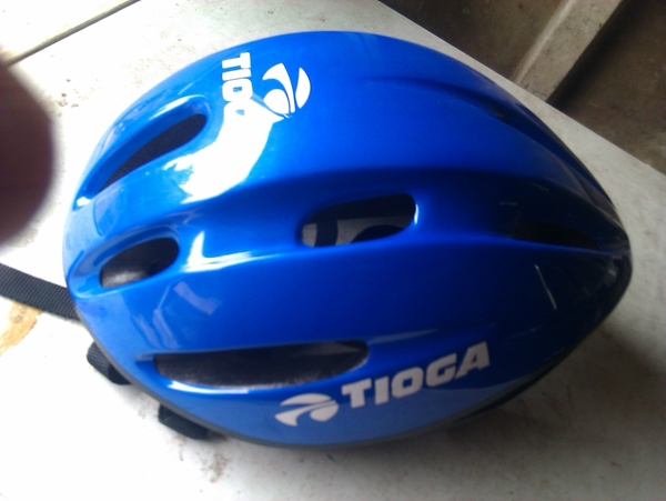 Yeah, here's my helmet just for you....xx