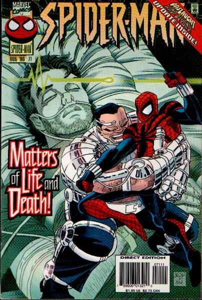 PETER PARKER SPIDERMAN CVR #71 ...