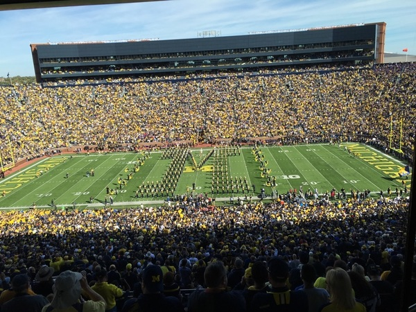 The Big House, Y'all... #GOBLUE