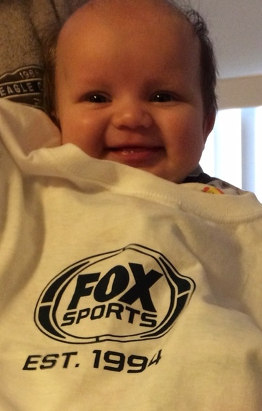 Thank you @NFLONFOX for the Fox Sports EST. 1994 shirt we won for a NFL centric RT. #NFLonFOX