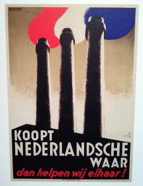 Koopt Nederlandsche waar, dan helpen wij elkaar!