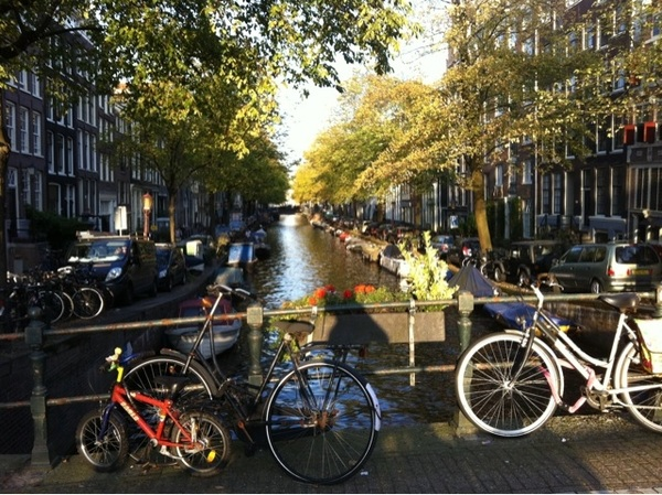 Indian summer in Amsterdam