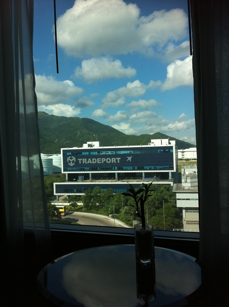 View from my hotel room #HongKong #CathayCity ☛