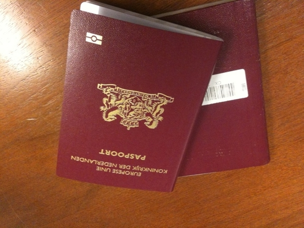 Wow nice and shiny passport!