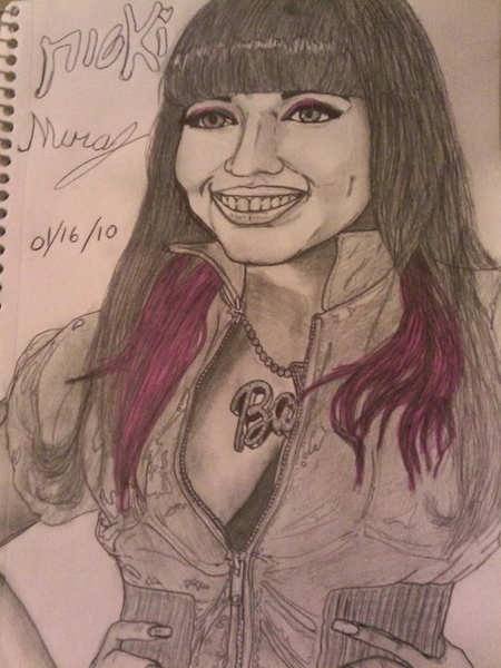 @NICKIMINAJ hey I drew this for u. It's u. I snapped on it