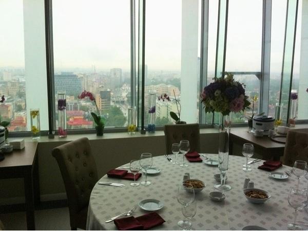 Restaurant Sole, etajul 15 al sediului ING