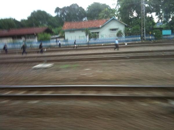 Catching a train?