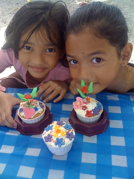 Cupcake decorations by d girls