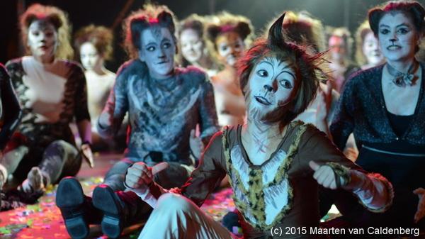 Abelklauw de spoorwegkat uit de #musical #cats van @rodenborch #rosmalen