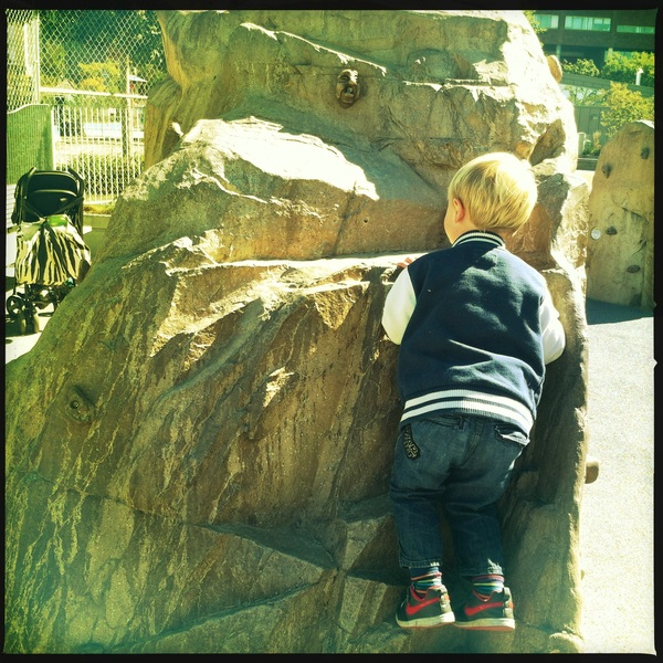 Fletcher of the day: Rock climber