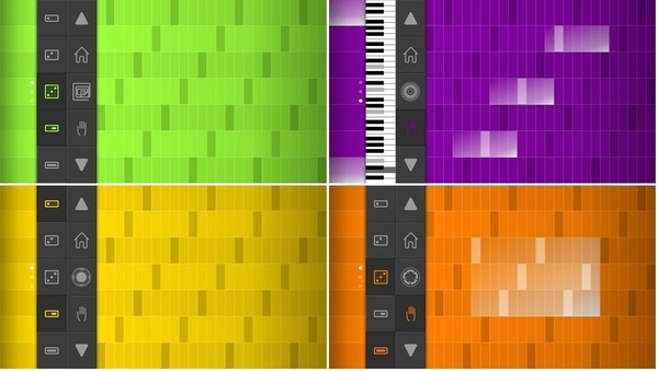 『SoundPrism』(無料) 美しい音楽を瞬時に作成可能です。ピッチの視覚化や直感的な操作で洗練されたメロディーやトーン、コード作りがまるで玩具のように簡単に実現。iPhone用の簡単着信音作成。直接作品をメール可能。
