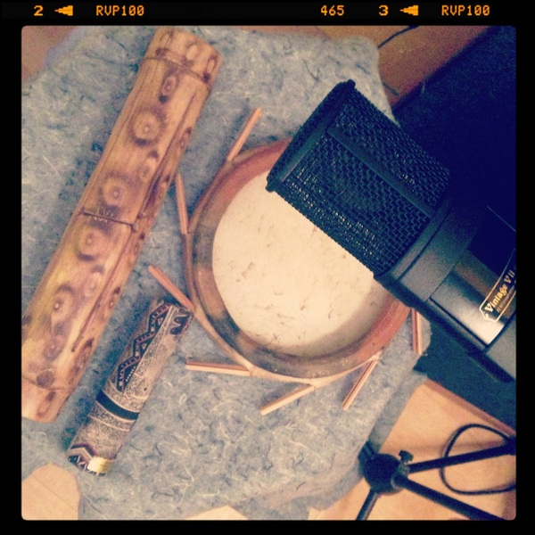 Recording percussion with a Vintage 11 by @jzmic
