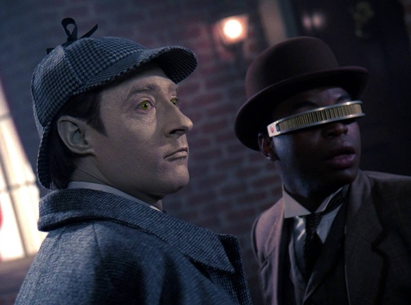 #TBT... Data & Geordi go sleuthing!