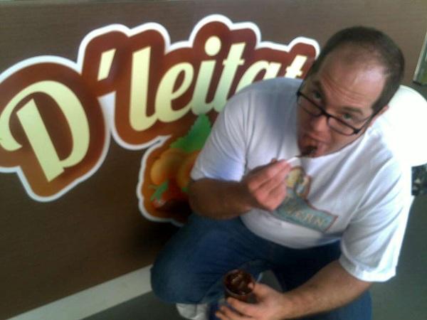 Estoy en @Dleitate del Expresso de Baruta y... Rulea!!! Prepárandome pa #LosGorditoTambienCorren