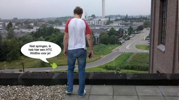 #HTCAW Niet springen!