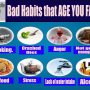 Bad Habits that AGE YOU FASTER