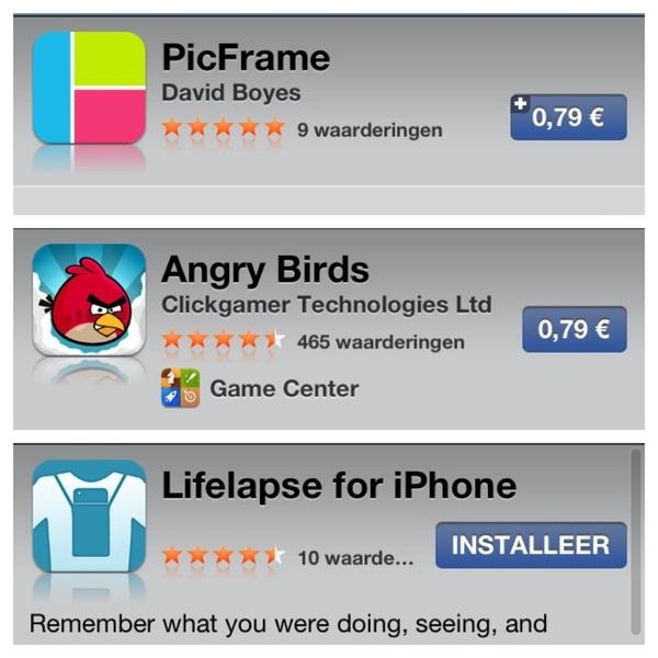 Hey Apple, where did my company name go?