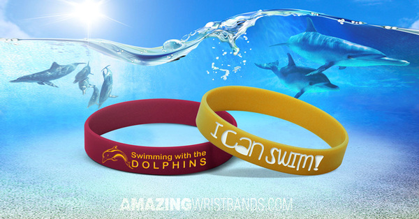 How wristbands are used for swimming motivation