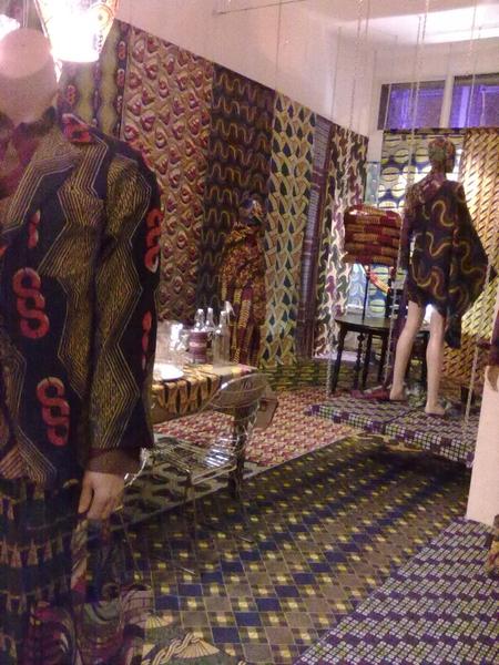 #nieuweontwerpers.nl laat zich inspireren door #afrika #textiel tijdens #museumnacht #rotterdam