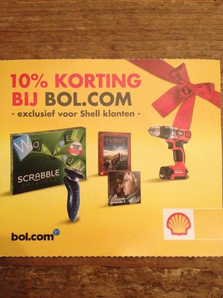 Bol.com plust eerst prijzen 15%, dan kerstactie met Shell! Toch?