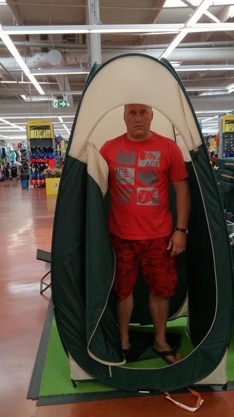 Nooit met de tent op vakantie