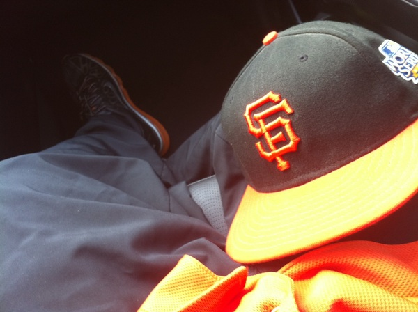 Reppin' my @SFGiants gear !!!      #2012WorldSeriesChamps