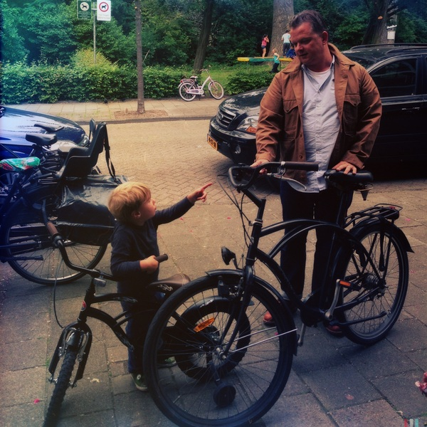 Fletcher of the Day: The boys and their bikes