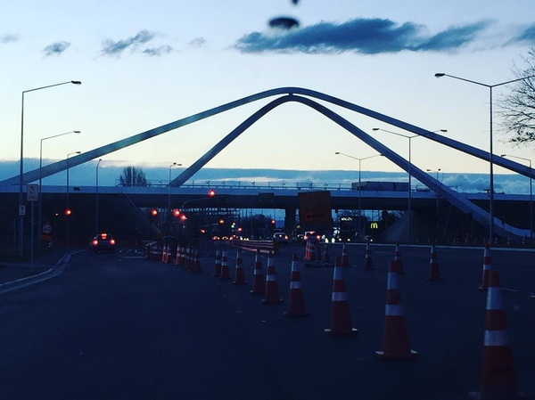 Christchurch's new icon is nearly complete. #airportgateway #chchnz #travel #holidays #pocketsofawesome