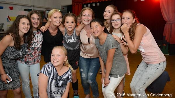 Na de #musical van @kctven #rosmalen nog even op de foto