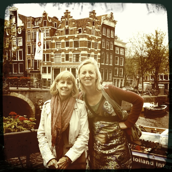Lunch with Darina and @Seamare in the Jordaan