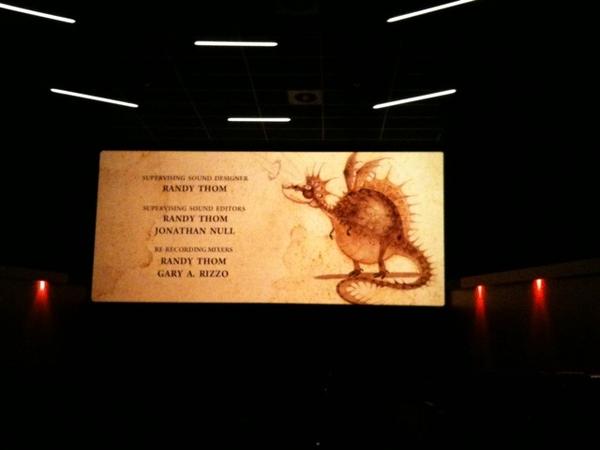 Mooie aftiteling van Hoe tem je een Draak. Mooie film!