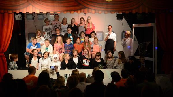 Groep 8 @bstven #rosmalen speelde vandaag de musical De Duffe Juf voor de ouders
