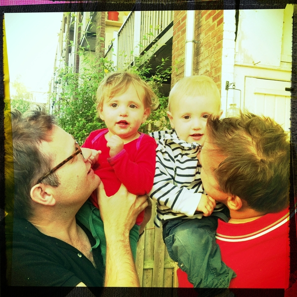 Fletcher of the day: Papa, miss Ellie and Jos.