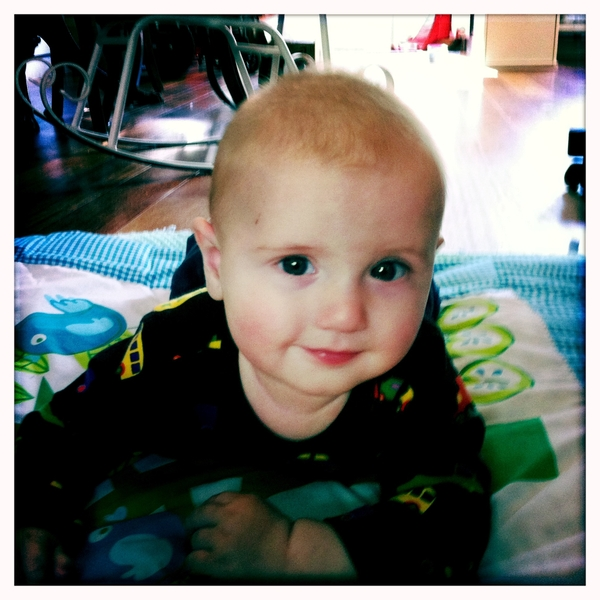 Fletcher of the day: tummy time