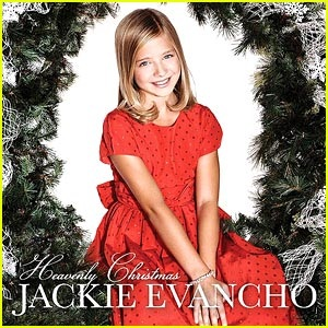 #playing #nowplaying Jackie Evancho-Heavenly Christmas (2011) CD cover 》》