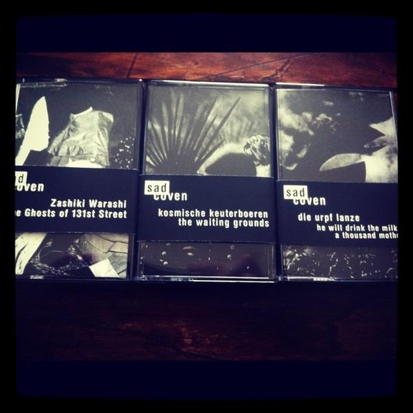 Drie nieuwe tapes van Sadcoven.be