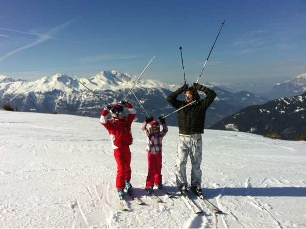 That was a big time fun week of skiing!