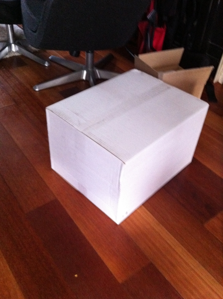 What's in the box? Guess we'll have to wait until @josk's birthday to find out!