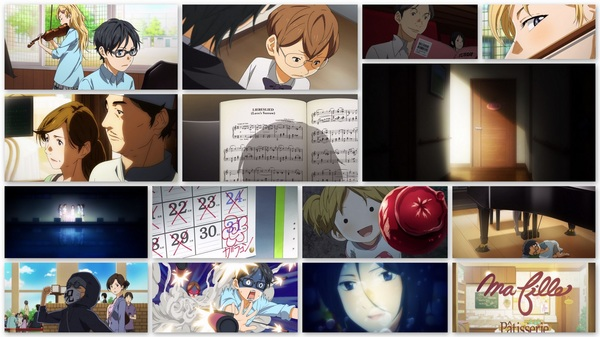 #YourLieinApril ep12 collage #anime