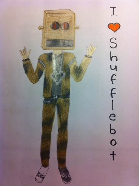 Shufflebot made by me!!! ♥ @LMFAO @RedFoo @SkysNuts @msCharliePearl @FartboXQ @NaterT8er ♥