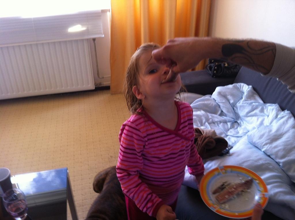 baby zelf laten eten