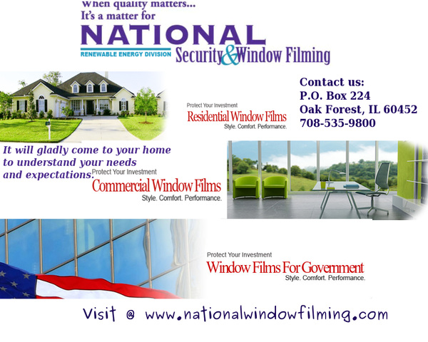 National Security & Window Film