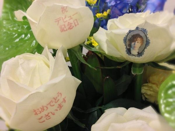 オオ!お花にカラープリントなんて出来るのぉ?スゲーーー!(*o´艸`o)<ステキやん♡