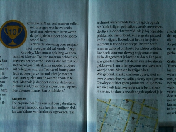 @alper in de VPRO Gids deel 2 #foursquare