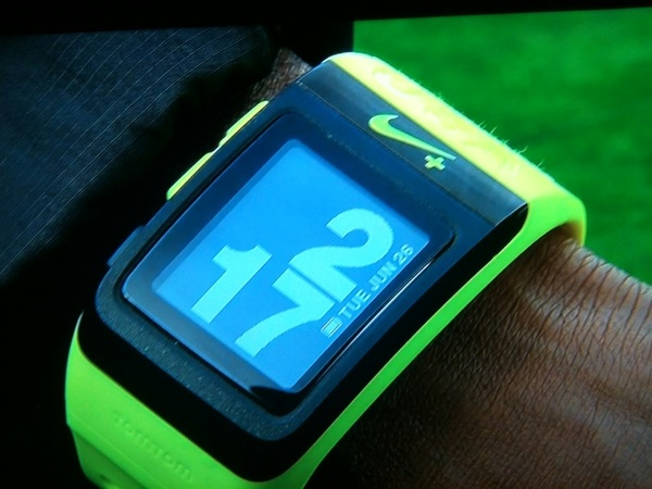 Volt Yellow Nike+ Sportswatch awarded to U.S. Olympic Trial top 3 in each event. #hardestteamtomake