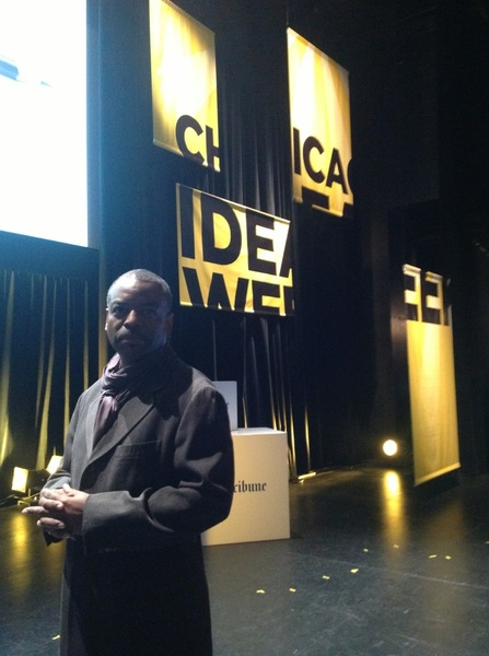 About to get started with my Chicago Ideas Week panel on the future of Education… #CIW