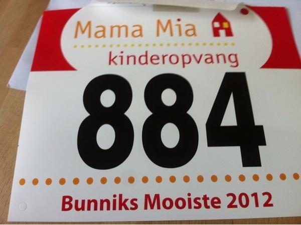 Startnummer voor @bunniksmooiste is binnen! Zaterdag 12 km knallen! Wie zien we nog meer in Bunnik?