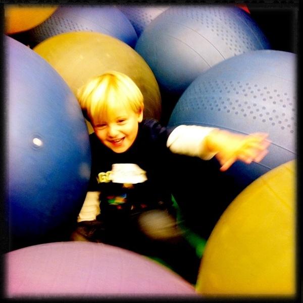 Fletcher of the day: Ball pond